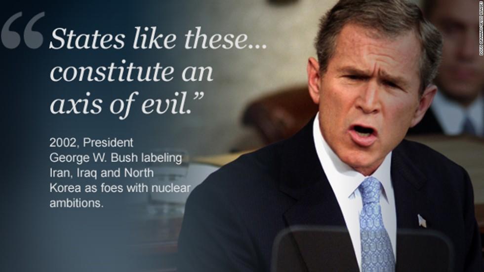 Bush axis of evil 2002